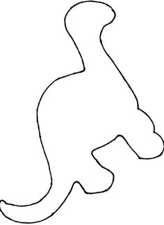 T-rex pattern. Use the printable pattern for crafts