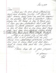Richard Ramirez letter with envelope and drawing for sale