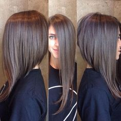 30 Dramatic A Line Hairstyles 2015 Hairstyles Ideas Walk The Falls