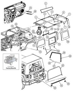 1000+ images about Jeep JK Parts Diagrams on Pinterest