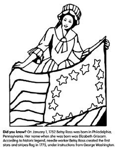 George washington, Washington and Coloring pages on Pinterest