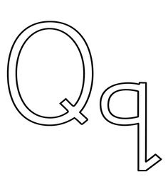 Geography Blog: Letter Q Coloring Pages