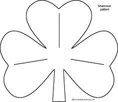 St. Patrick's Day Craft ~ Tissue Paper Shamrock