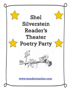 April is Poetry Month. Have a fun time teaching or writing