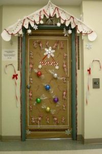 Winter door decorating idea for an elementary school ...