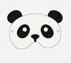 Make a Giant Panda Mask courtesy of the National Zoo