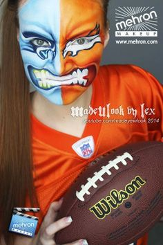 1000 Images About Face Paint Sports Ideas On Pinterest