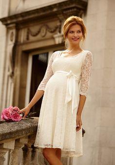 Kurzes #Brautkleid Für Die Standesamtliche #Hochzeit Von Rime