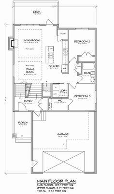 This 1572 sq. ft. custom built modified bi-level features