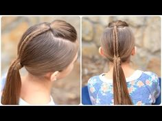 Little Girl's Hairstyles How To Do A Chinese Staircase Braided