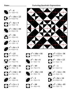 1000+ images about Classroom- Algebra on Pinterest