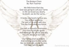 Memorial poems, Poem and Funeral on Pinterest