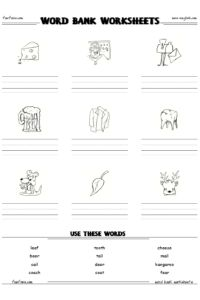 handwriting worksheets! make your own spelling list. love