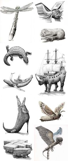 Hybrid Animal Drawings Has Science Gone Too Far? Or Not