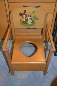 1000+ images about Chamber Pots and Potty Chairs on ...