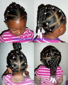 Black Hairstyles My Little Natural Cute Little Girl Hairstyles