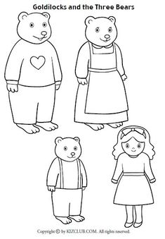 Storytime and more: Goldilocks and the Three Bears Story