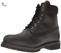 timberland af inch premium black black mens boots size uk chaussures timberland