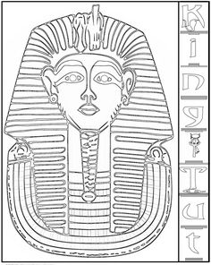 Ancient Egypt Color Pages http://www.fantasyjr.com/ancient