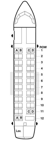 american airlines airbus a300-600 seating map aircraft
