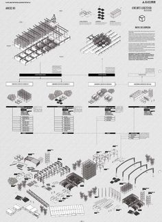 Sections of Algorithimic Tower (parametric design)- by