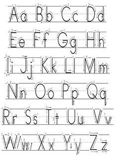 Spring theme alphabet letters worksheets, free printable