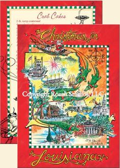 1000 Images About Louisiana Christmas Cards On Pinterest