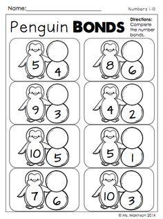 decompose numbers kindergarten worksheet free printable
