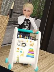 bouncy chairs for babies faux fur chair my sims 3 blog: toddler playground swing by danjaley | cc (custom content)/downloads ...