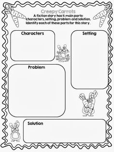 M/creepy Carrots Coloring Sheet Coloring Pages