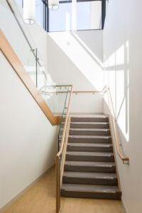 modern interior stair railing | Modern stainless steel ...