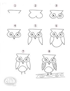 How to draw a tree step by step. This tutorial makes so