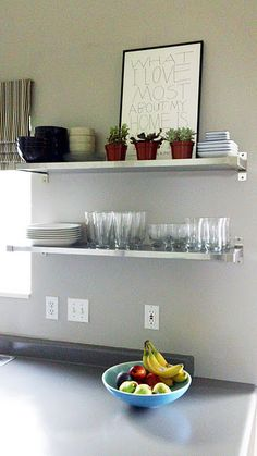 open metal shelving kitchen walmart chairs 1000+ images about to prove my husband in ...