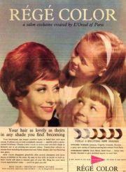 vintage 1960 toni home perm hair