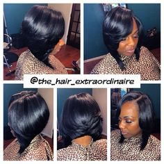 Sew In Asymmetrical Bob Hairstyles I Must Try! Pinterest