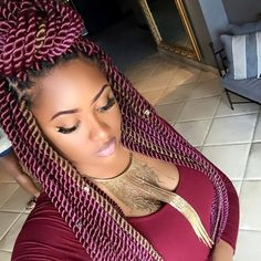 29 Senegalese Twist Hairstyles For Black Women Coiffures