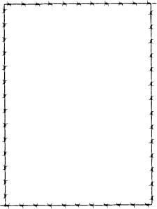 Revans Barbed Wire Border Clip Art