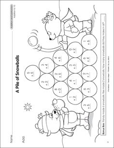 1000+ images about Winter Worksheets on Pinterest