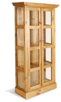 Unfinished Pine Curio Cabinets  Cabinets Matttroy