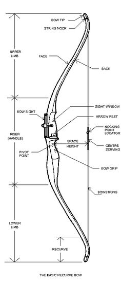 Recurve Bow diagram....my new study guide