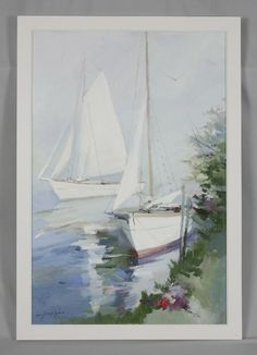canvas beach chair tech furniture 1000+ images about sailboat watercolors on pinterest   sailboats, watercolor painting and virgin ...