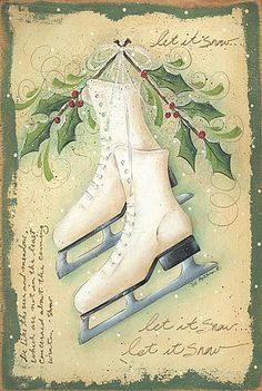 Ice Skating On Pinterest Ice Skating Vintage Winter And