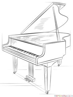 Diagram Of Grand Piano, Diagram, Free Engine Image For