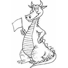 The Tale of Custard the Dragon, by Ogden Nash--lesson plan