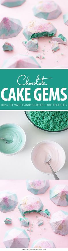 Cake Gems - how to m