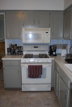 cheap kitchen appliance packages rooms to go islands bisque appliances with white cabinets | ...