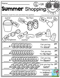 Students will love counting by tens to color this summer