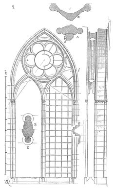 Download Gothic tracery window pattern for free in vector