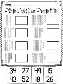 Place Value Freebie! Roll it! Make it! Expand it! This