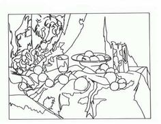 Masterpiece Coloring Page--Free printable-Henri Toulouse
